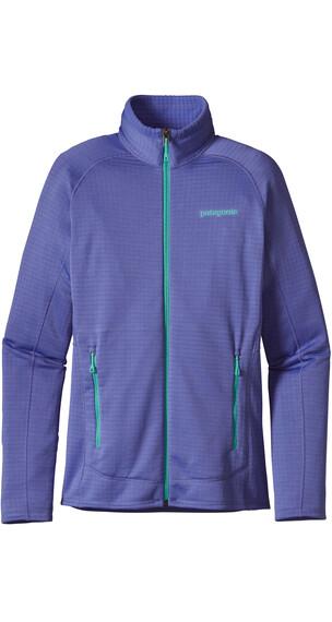 Patagonia W's R1 Full-Zip Jacket Violet Blue